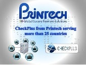 CheckPlusCFO secure payment software from Printech Global