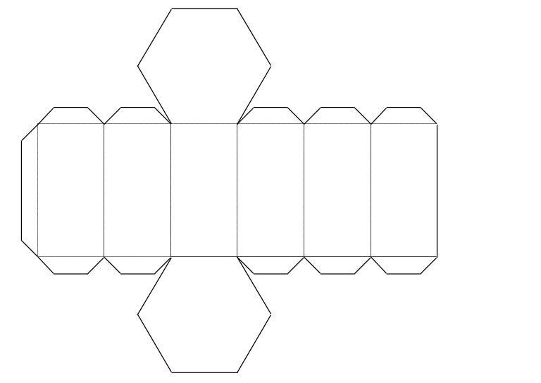 Prisma de base hexagonal