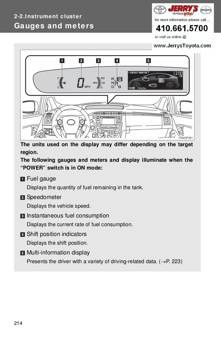2011 toyota prius service repair manual software