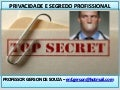 Privacidade e segredo profissional