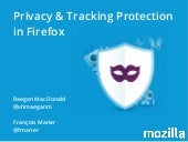 Privacy and Tracking Protection in Firefox