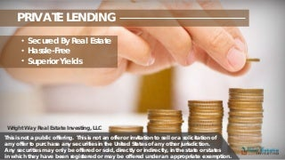 loan secured by real estate