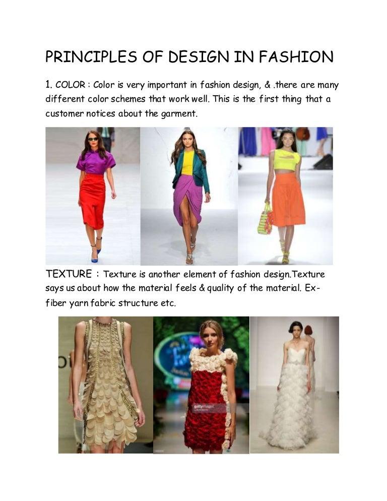 Proportion Principle Of Design Fashion