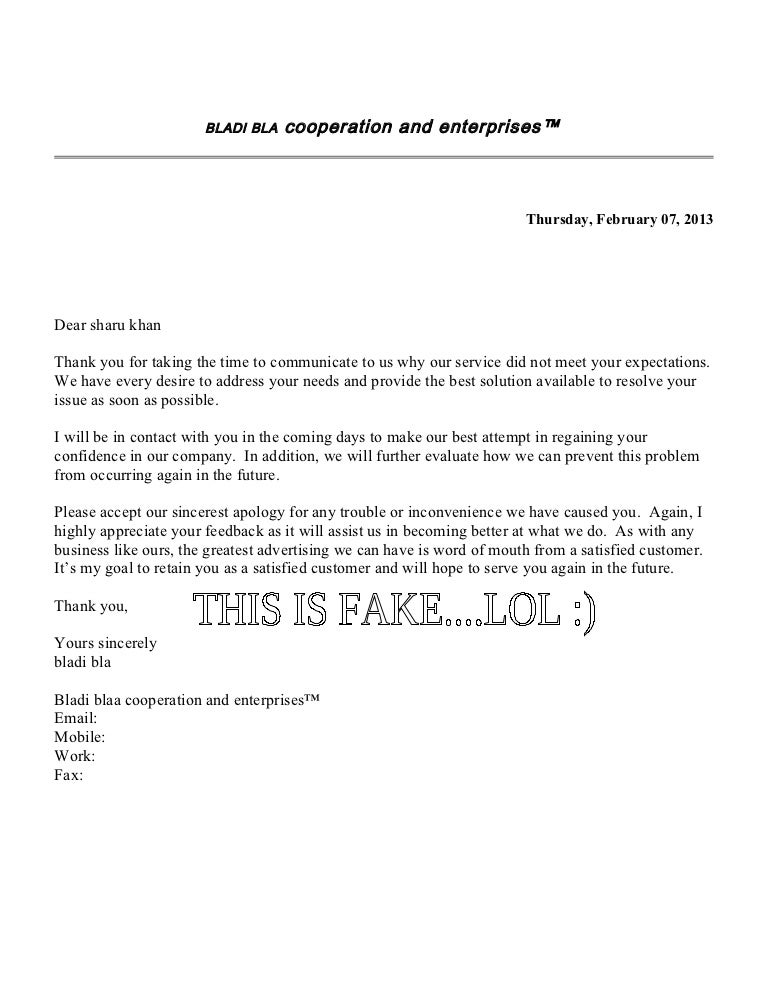 Customer Apology Letter Formal Apology Letter Samples To Inspire