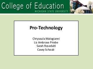 Pro Technology Group2 Draft1