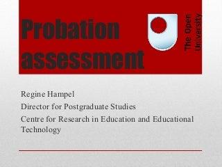 Red dress 18 months probation