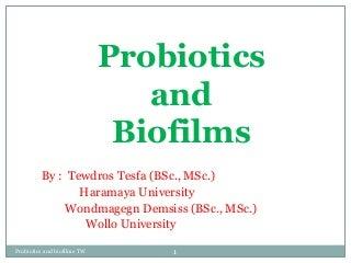 Biofilm term paper