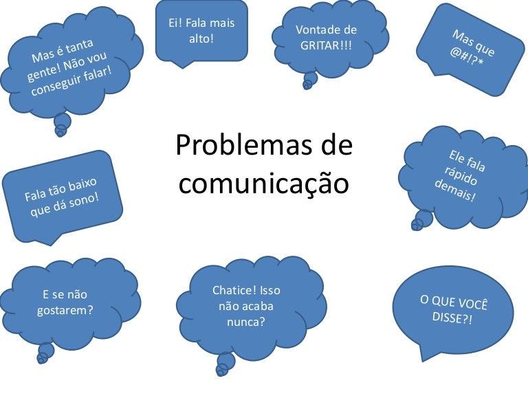 Treinamento Trabalho Em Equipe: Problemas De Comunicação