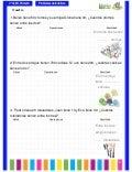 Problemas matemáticos 3º