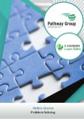 Problem Solving, E-learning, Pathway Group, Lean Courses