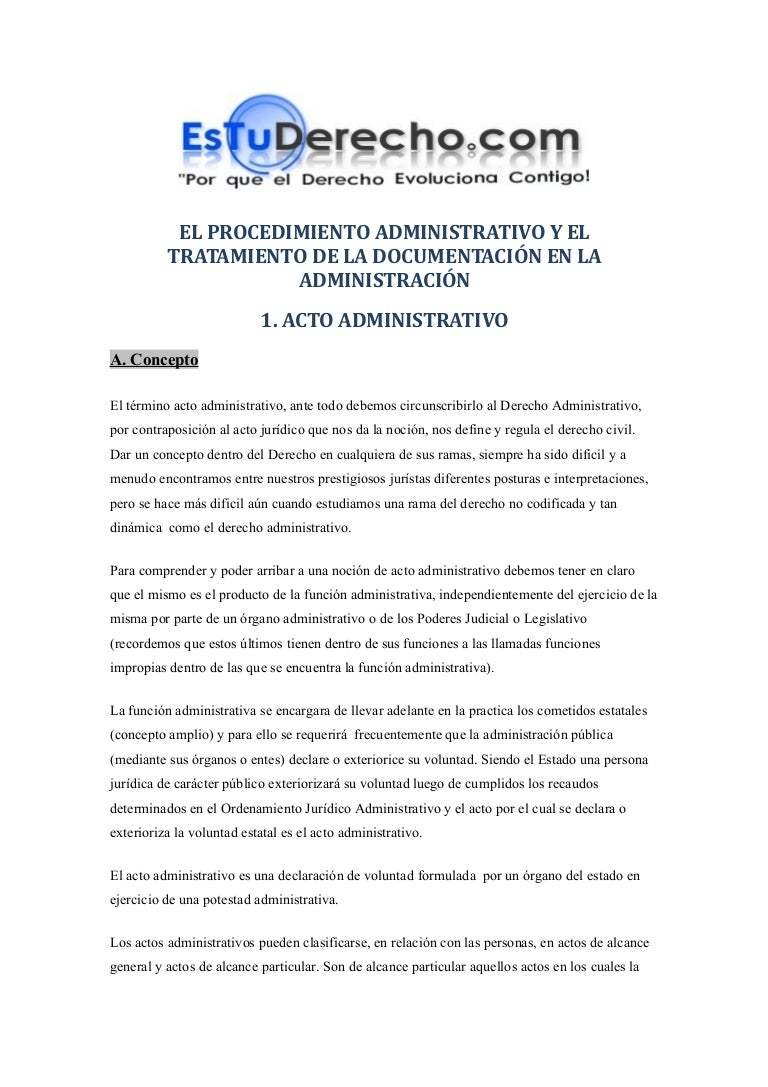 Procedimiento administrativo (Esquemas de Derecho Administrativo)