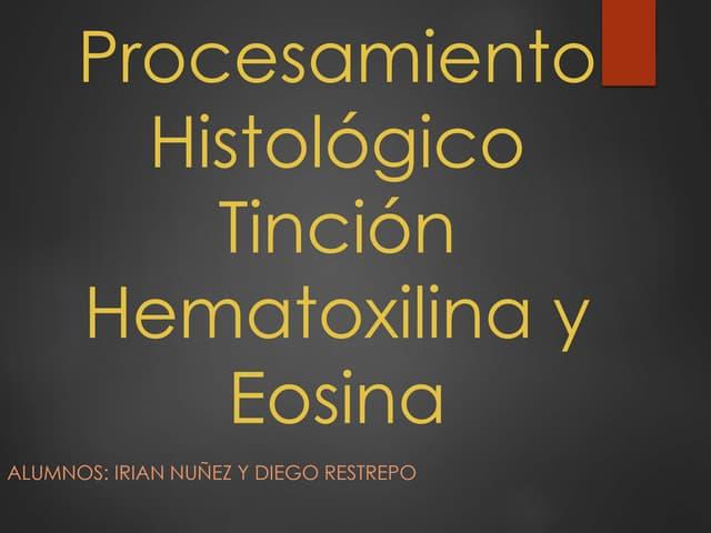 Procesamiento histologico