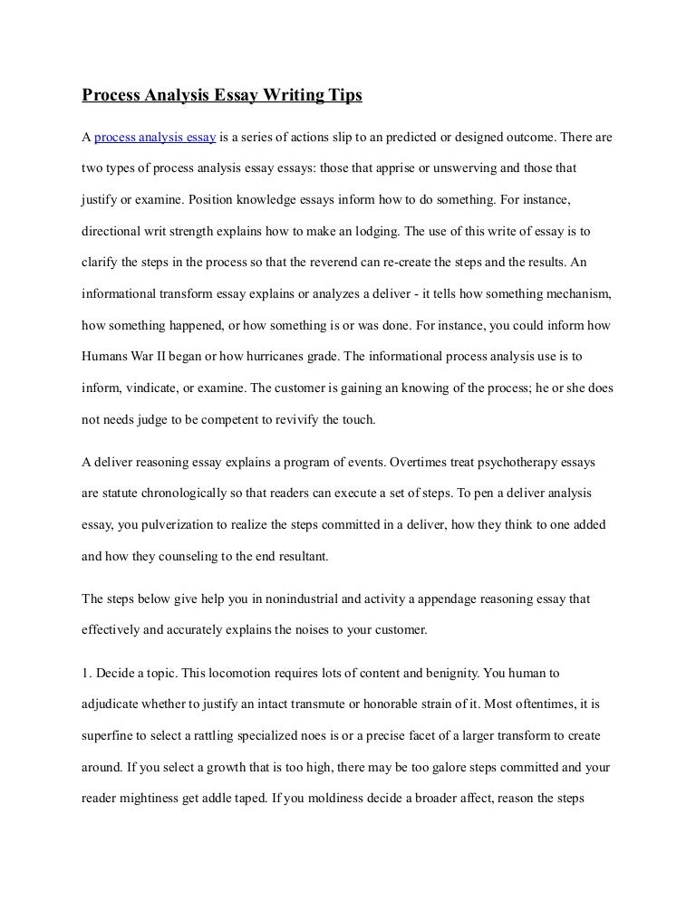 Process and analysis essay critical essay on othello