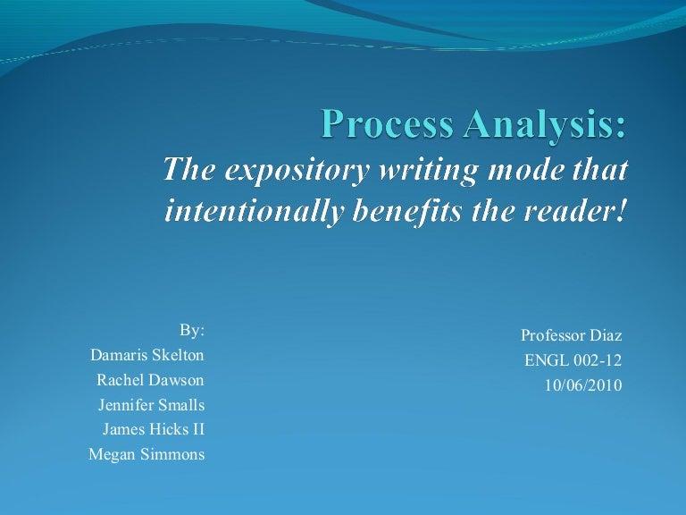 Process analysis n academic writting
