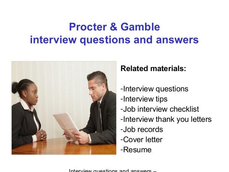 Job interview questions essay