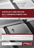 Product Brochure - Australia & New Zealand B2C E-Commerce Report 2014