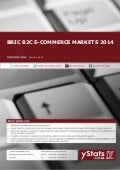 Product Brochure: BRIC B2C E-commerce Markets 2014