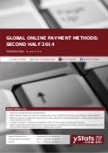 Product Brochure_Global Online Payment Methods: Second Half 2014