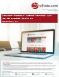 Product Brochure: Chase Paymentech Company Profile 2015: Online Payment Services