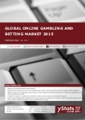 Product Brochure: Global Online Gambling and Betting Market 2015
