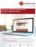Product Brochure: Worldpay Company Profile 2015: Online Payment Services