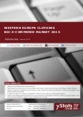 Product Brochure: Western Europe Clothing B2C E-Commerce Market 2015