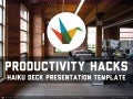 Productivity Hacks Presentation Template