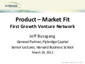 Product market fit fgvn 3-2012