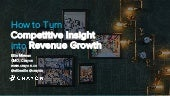 How to Turn Competitive Insight into Revenue Growth