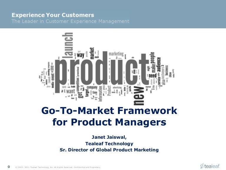 Product marketing framework for product or service launch stopboris Choice Image