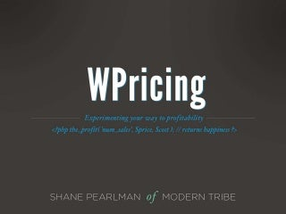 Common Cents : WordPress Product Pricing