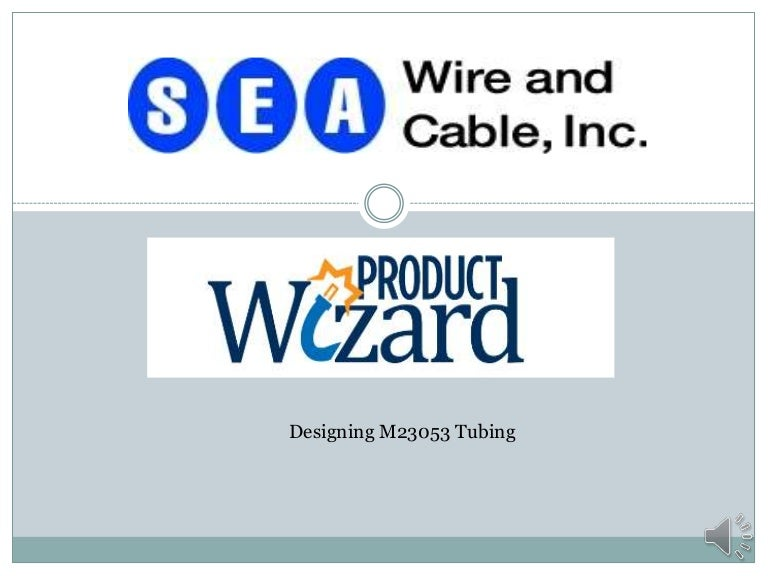 Product wizard m23053 tubing
