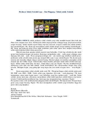 BARU. WA 0822*3161*2453 sabuk sekolah sd Bojonegoro, Grosir Sabuk untuk Sekolah, Jual Sabuk Identitas