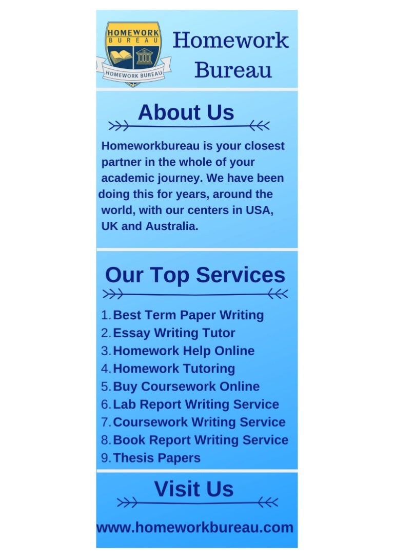 Buy Homework Online | Professional Homework Writing | Original Work | Ultius