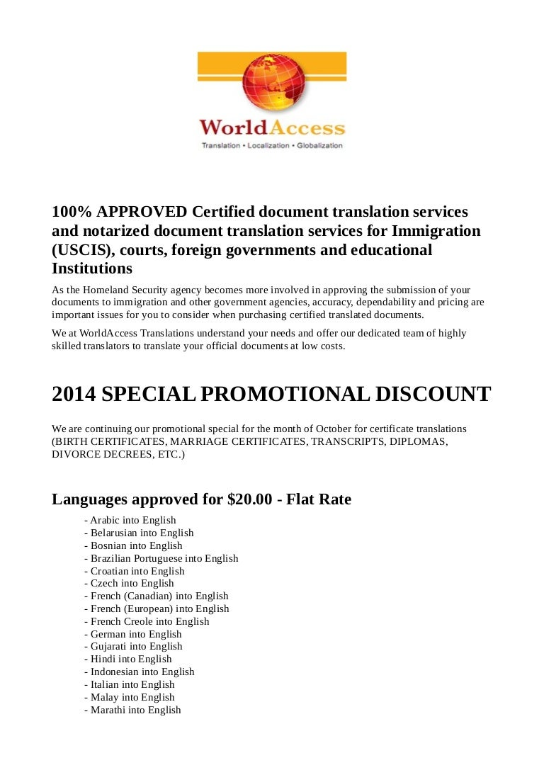 Professional document translation services world access aiddatafo Image collections