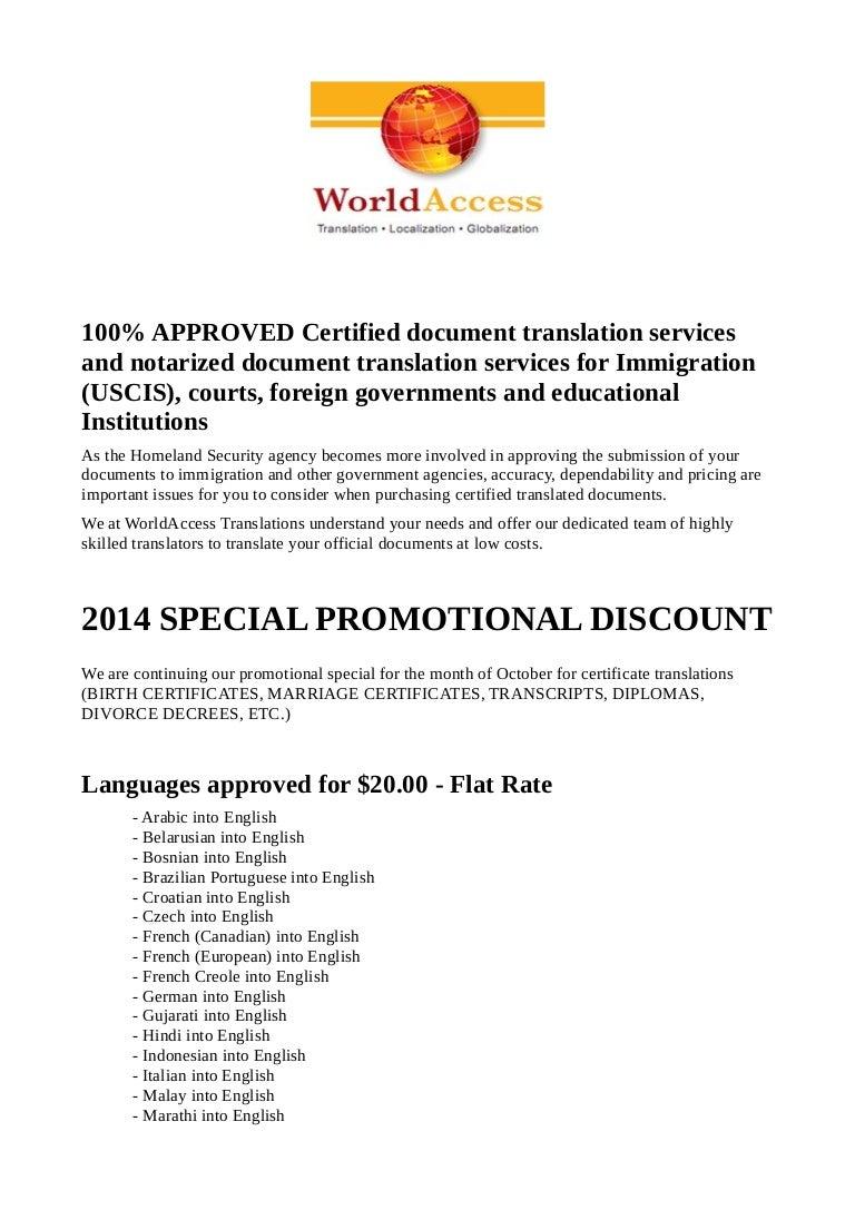 Professional document translation services world access aiddatafo Choice Image