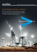 Professionalising change in insurance