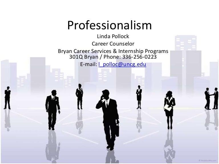 professionalism presentation