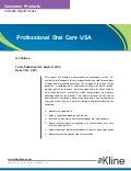 Professional Oral Care USA Brochure