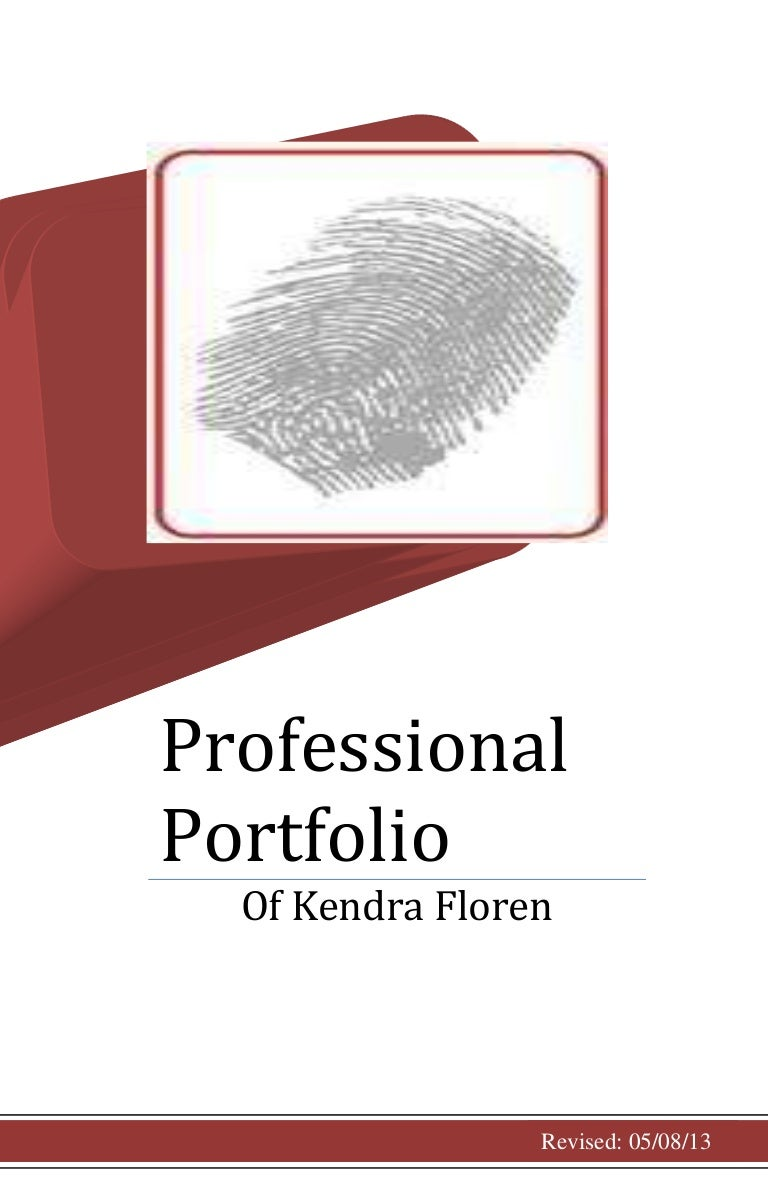 professional title page