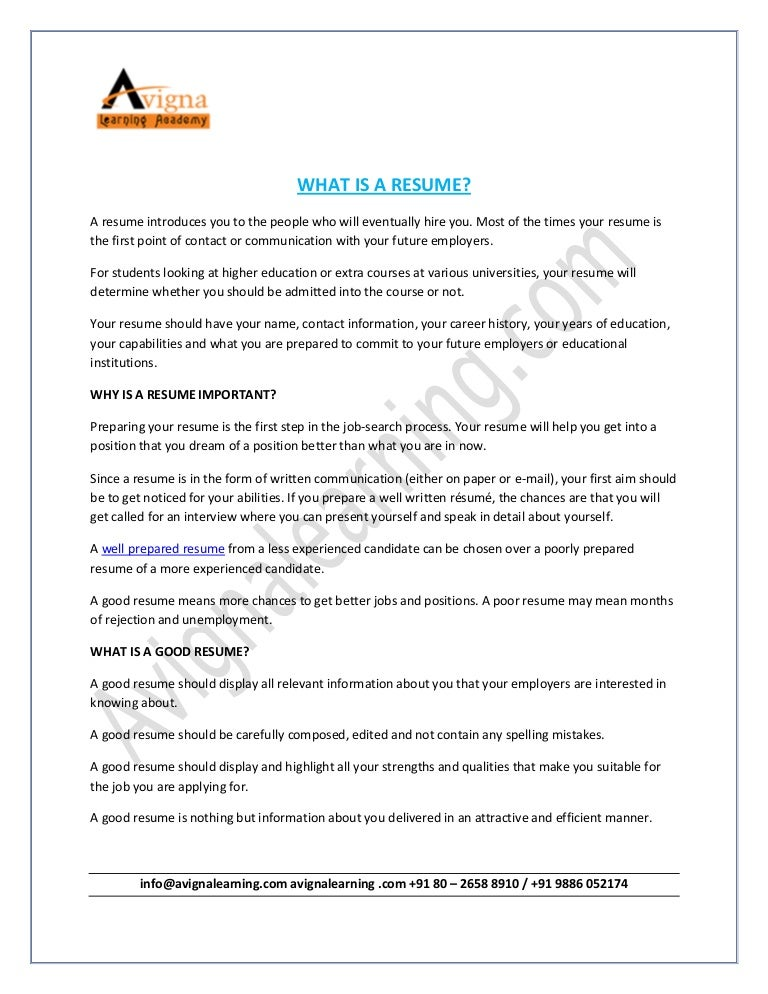 Do resume writing services work