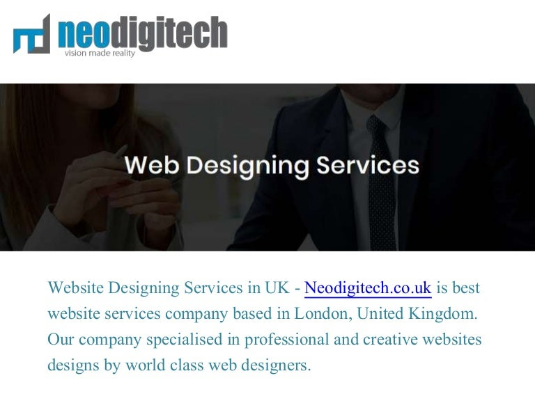 Professional Website Designing Services Company Agency In London Uk