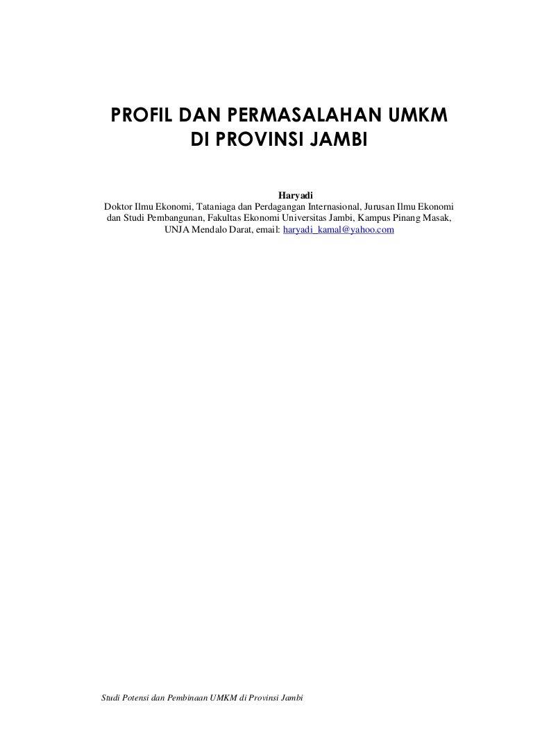 Profil Umkm Di Provinsi Jambi Produk Ukm Bumn Songket Durian