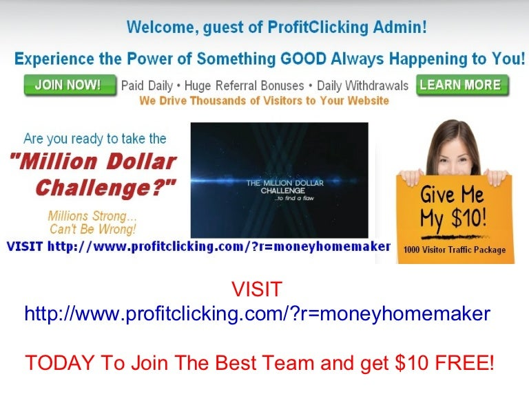 Profit Clicking a Scam?   Reviews - ScamXposer