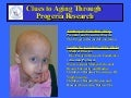 Progeria Research Foundation at Partnering for Cures
