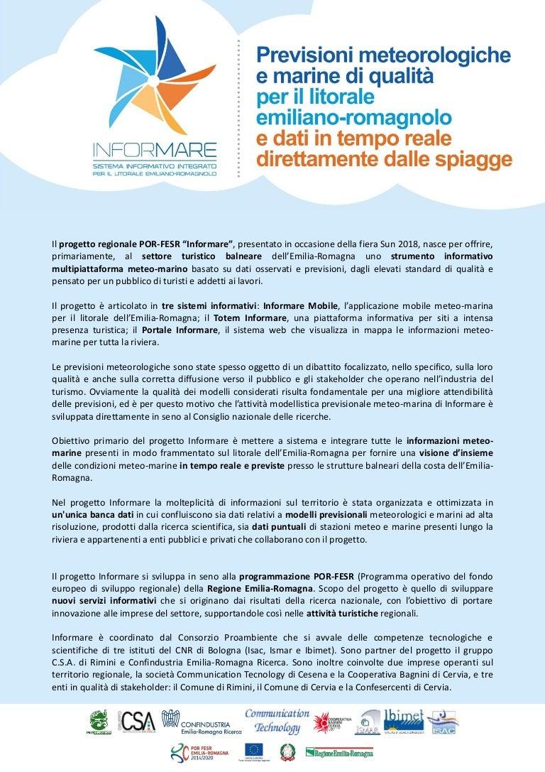 Ricerca Per Immagini Mobile progetto informare: previsioni metereologiche e marine di