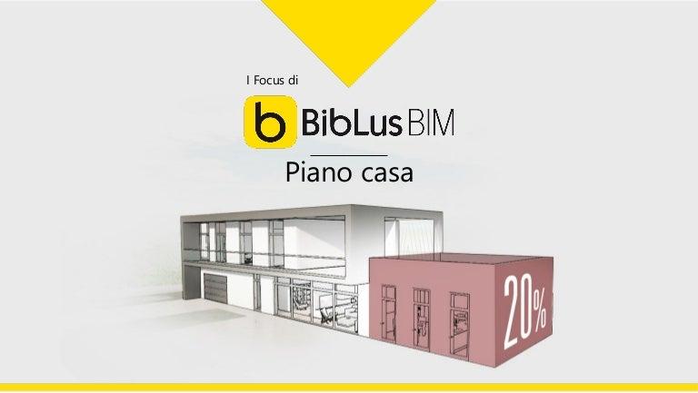 Progetto Piano Casa Con Un Software Bim