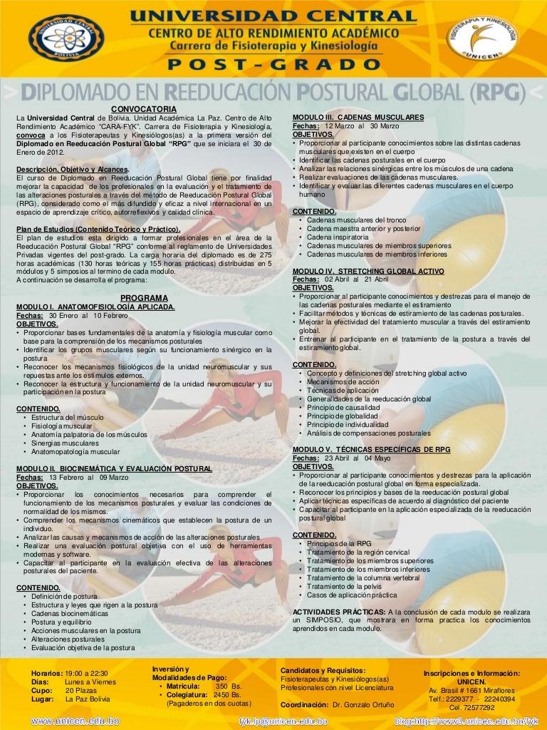 Programa diplomado rpg 2012 - unicen