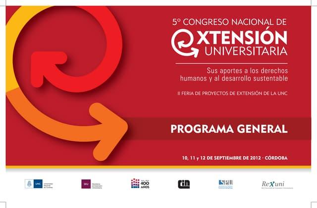 Programa general del Congreso (web)