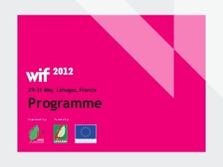 Wif, Interactive design international festival, programme